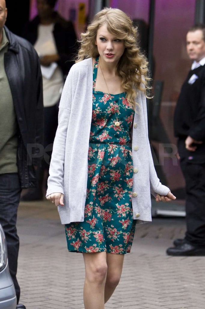 Taylor Swift Pays a Visit to British MTV and Hits the Town For a Girls' Night Out