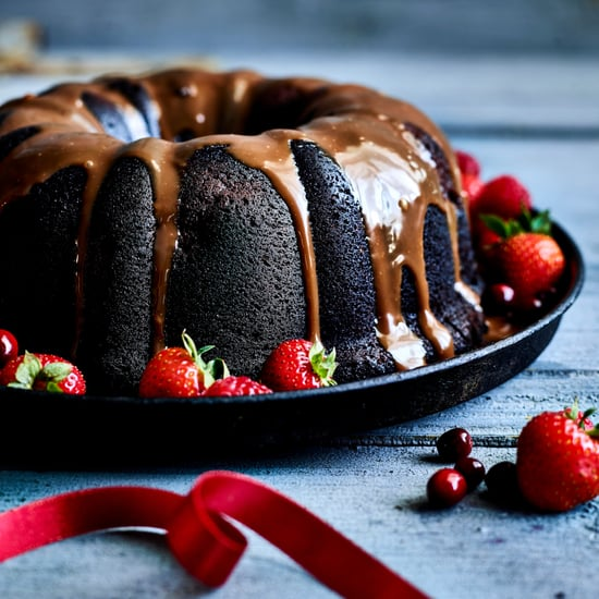 Double Chocolate and Mixed Berry Bundt Cake
