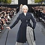 Helen Mirren Walked the L'Oréal Runway During London Fashion Week