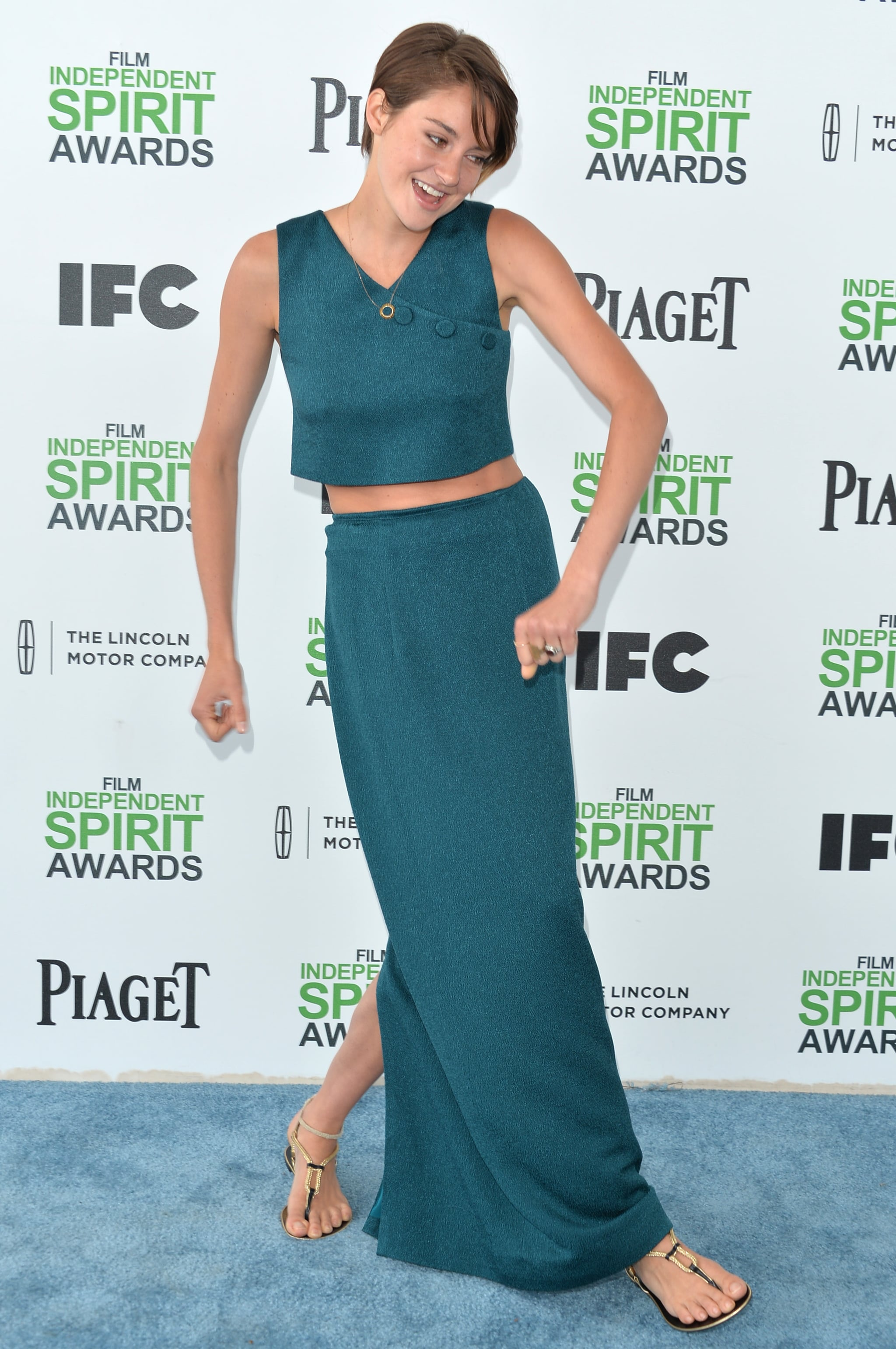 Shailene Woodley at the Spirit Awards