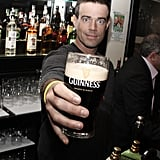 Carson Daly toasted to St. Patrick's Day at a pub in NYC in March 2009.