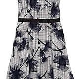 Jason Wu Black-and-White Floral Dress