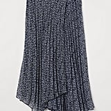 H&M Pleated Wrap-front Skirt