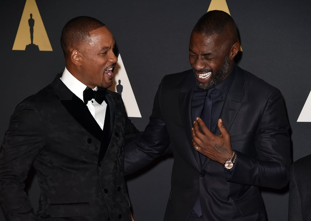 Pictured: Will Smith and Idris Elba