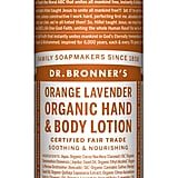 Dr. Bronner's Orange Lavender Organic Hand & Body Lotion