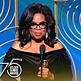 Oprah Winfrey: 2018 Golden Globes