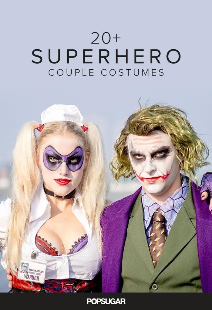 Superhero Couple Costumes