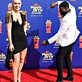 Lindsey Vonn and P.K. Subban at the 2019 MTV Movie and TV Awards