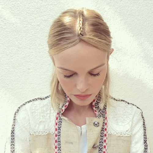 Kate Bosworth's Perfect Braid at Coachella