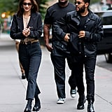 See More Pics of Bella and The Weeknd in NYC