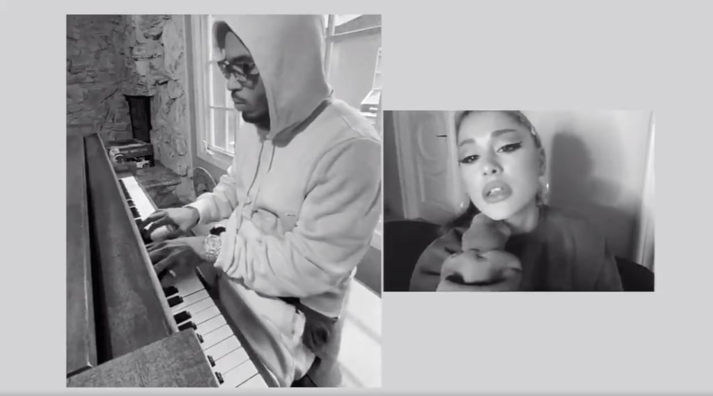 "Ariana Grande's ""My Everything"" At-Home Performance Video"