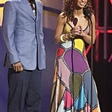 Common and Mya at the 2003 American Music Awards