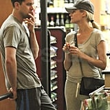 Diane Kruger and Joshua Jackson together in LA.