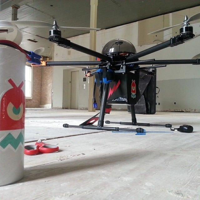 This Taser Drone