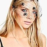 Spider Veil Headband