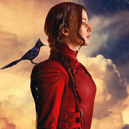 Jennifer Lawrence Deep in the Meadow Mockingjay — Part 2