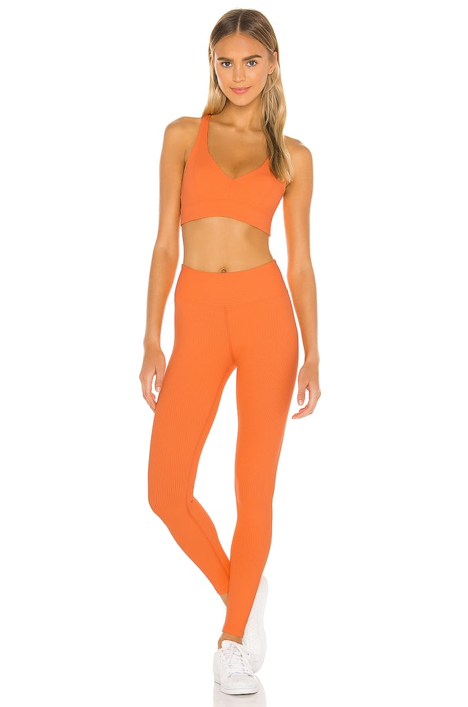 Year of Ours Veronica V Bra and Ribbed Jogger Legging
