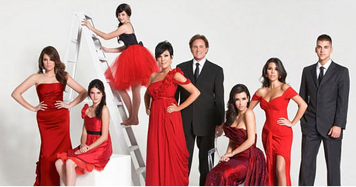 Kardashian Family Christmas Cards | Pictures | POPSUGAR Celebrity