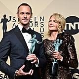 Pictured: Alexander Skarsgard and Nicole Kidman