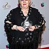When Paquita La Del Barrio Won the Lifetime Achievement Award