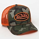 Von Dutch 270 Camouflage Snapback Trucker Hat