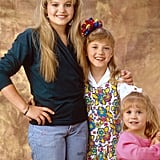 DJ, Stephanie, and Michelle Tanner From Full House