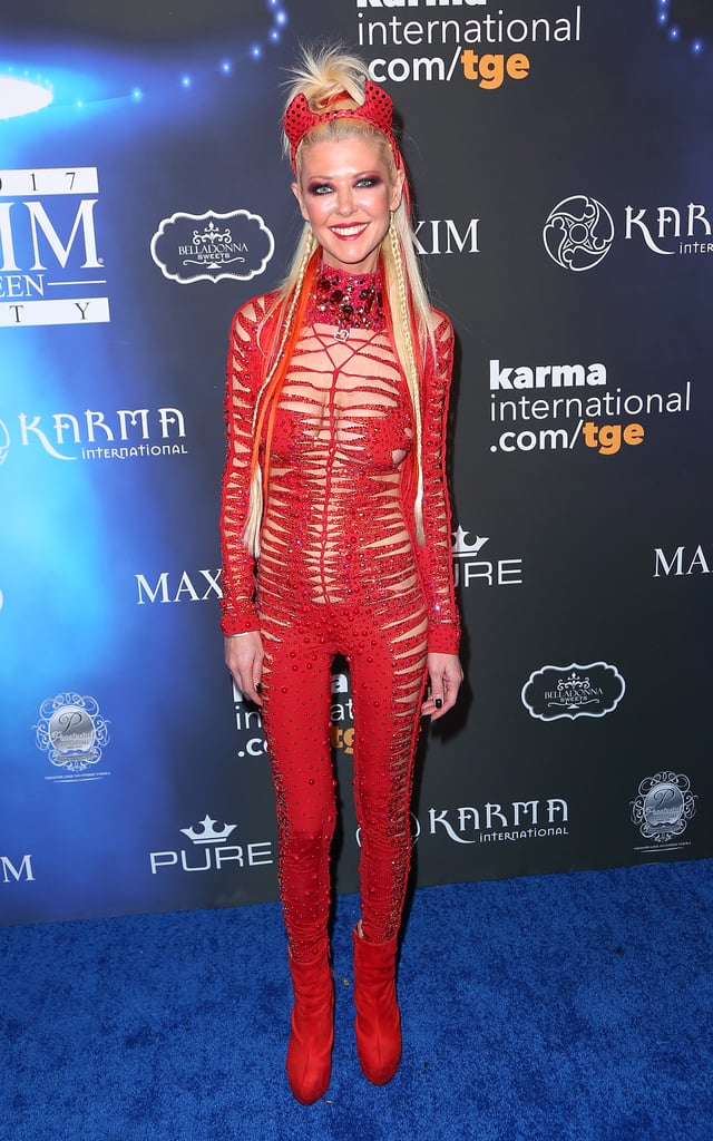 Tara Reid as a Devil | Celebrity Halloween Costumes 2017 ...