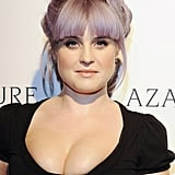 Even if you don't have colorful strands like Kelly Osbourne, a braided updo is a nice way to add texture and interest to your look.