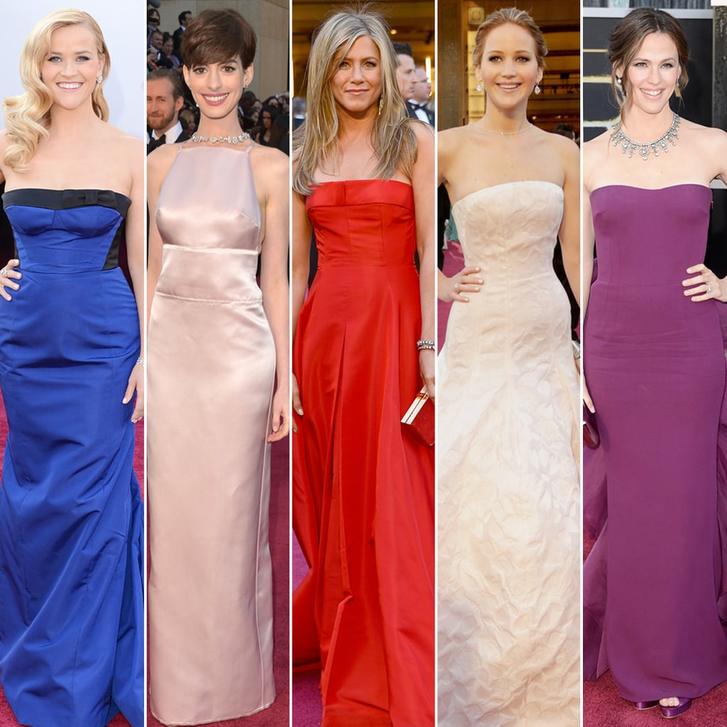 All the Ladies on the Oscars Red Carpet!