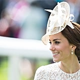 Kate Middleton flashed her signature smile at this year's Royal Ascot in London, which took place in early June.