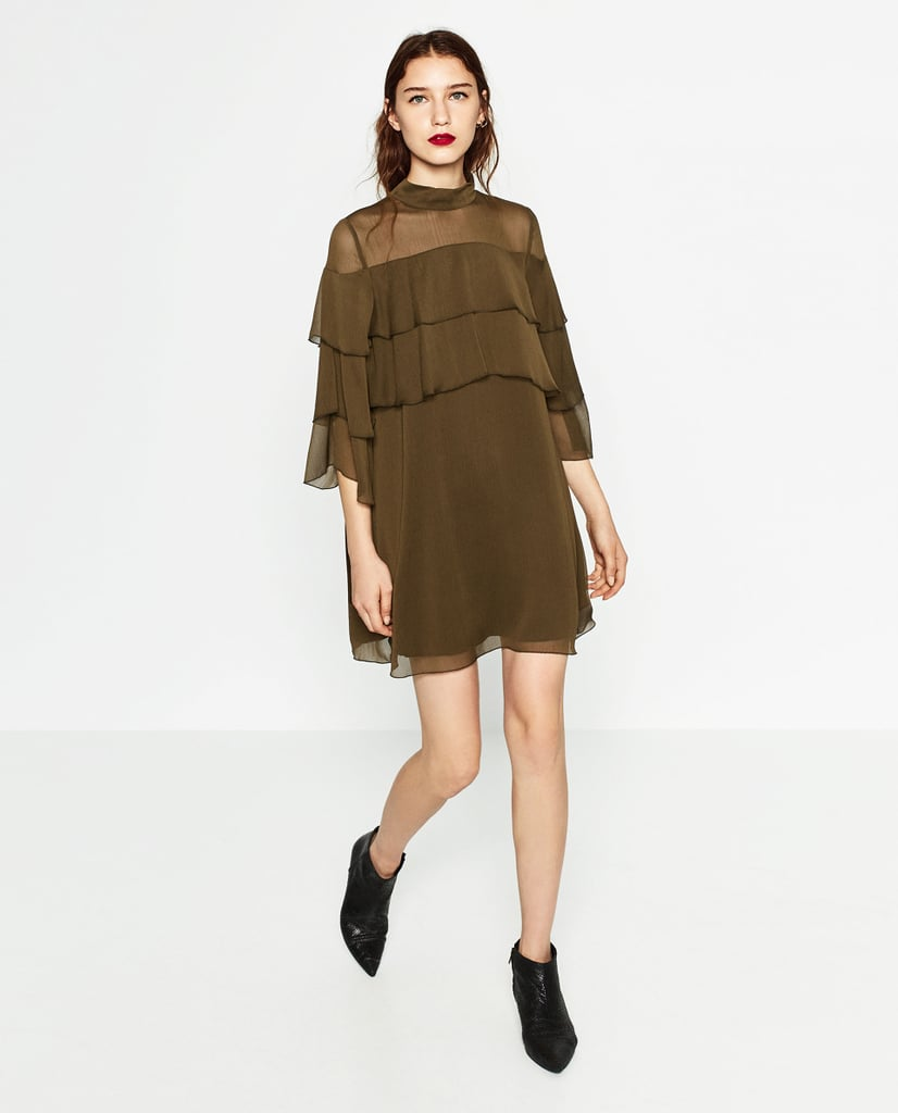 Zara Short Frilled Dress ($50)