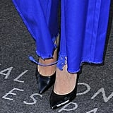 "Bella Hadid Off-White ""For Walking"" Heels"
