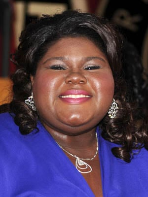Gabby Sidibe at the 2010 SAG Awards