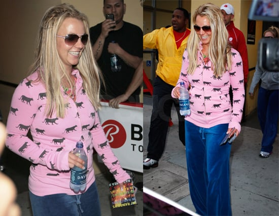 Britney's Finally All Smiles and In Rainbows