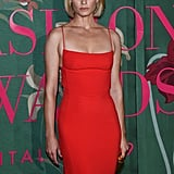 Amber Valletta at The Green Carpet Fashion Awards 2019