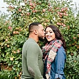 Apple Orchard Engagement Shoot