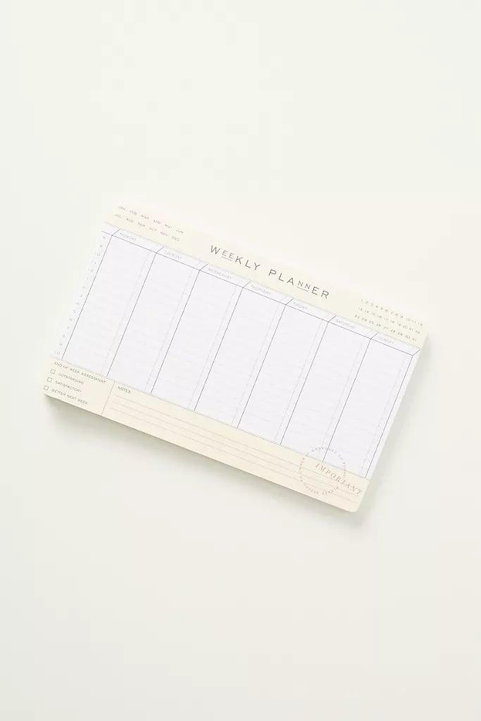 Lea Weekly Planner Deskpad
