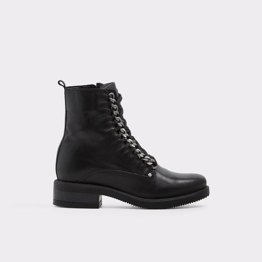 Aldo Rugama Black Ankle Boots