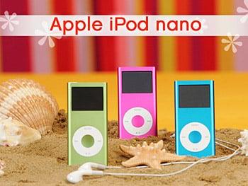 Bright iPod Nanos!