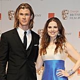 Chris Hemsworth and Hayley Atwell, 2012
