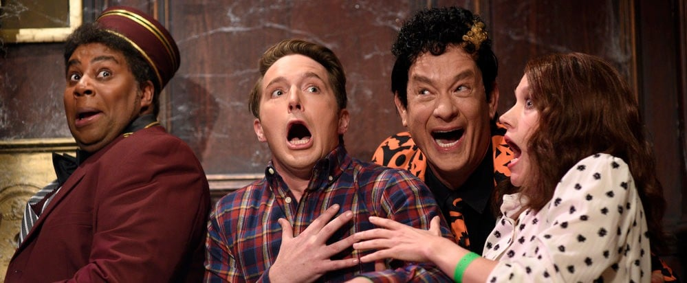 This Bizarre SNL Skit With Tom Hanks Is All You Need to Get in the Halloween Spirit