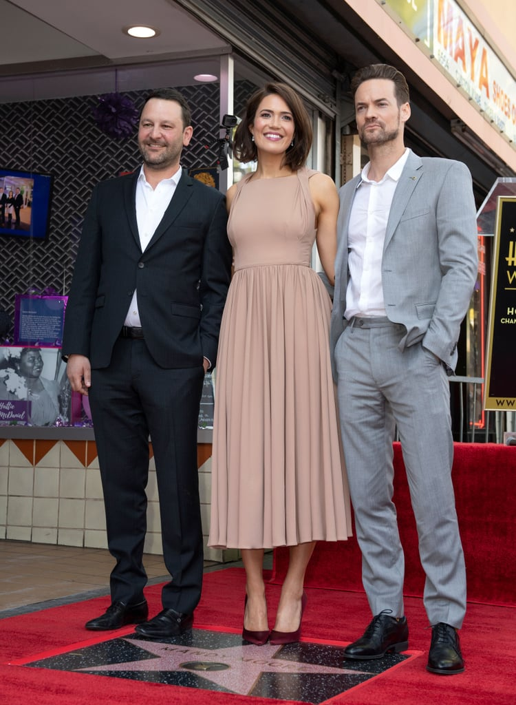 Mandy Moore And Shane West At Walk Of Fame Ceremony 2019 Popsugar Entertainment Photo 7