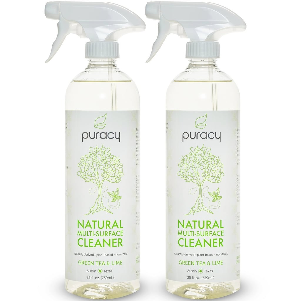 If you're looking for something a bit less harsh, consider Puracy Natural All-Purpose Cleaner ($14 for two). Developed by doctors, filled with ingredients you'll feel safe using around kids and pets, and guaranteed to provide a streak-free clean of every hard surface in your home, it's a sure win.