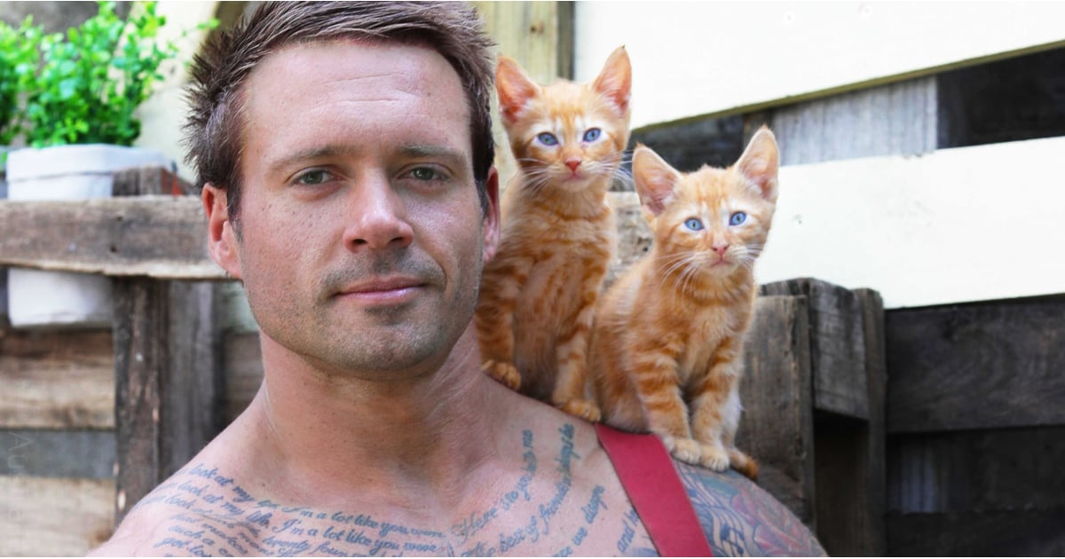 These Hot Firemen Posing With Baby Animals Are Making Us REAL Hot Under the Collar