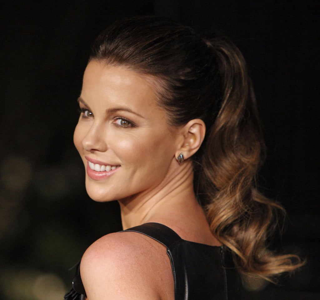 All Hail Kate Beckinsale, Master of the Majestic Red-Carpet Ponytail