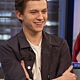 Cute Photos of Spider-Man Tom Holland