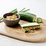 Cucumber Mini Tuna Sandwiches Recipe