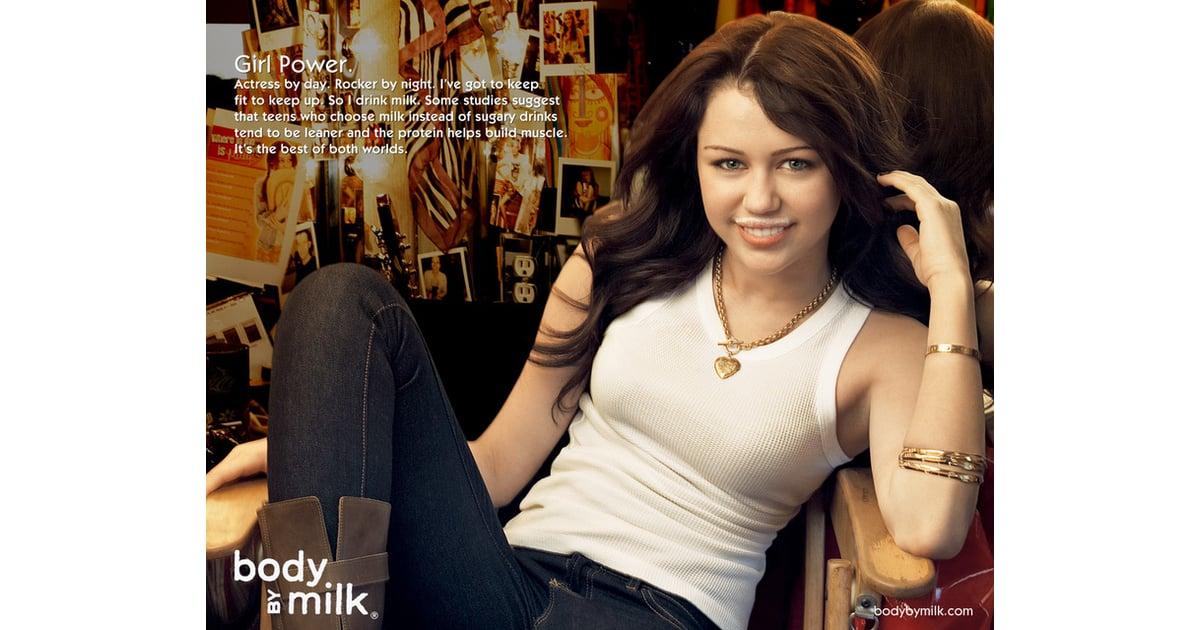 Celebrity got milk ads