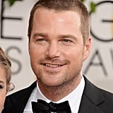 Chris O'Donnell brought his hotness to the Globes.