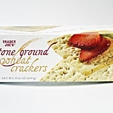 Stone Ground Wheat Crackers ($2)